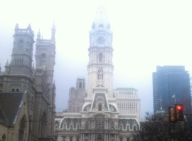 Philly City Hall by M. DANTE