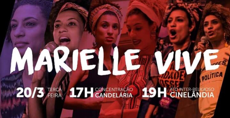 We Remember:  Brazilian Rights Activist Marielle Franco